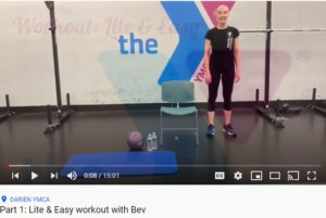 Lite & Easy Workout with Bev Darien YMCA