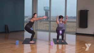 Yoga Balance and Blocks Darien YMCA
