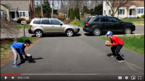 Short Hop Footwork Baseball Practice