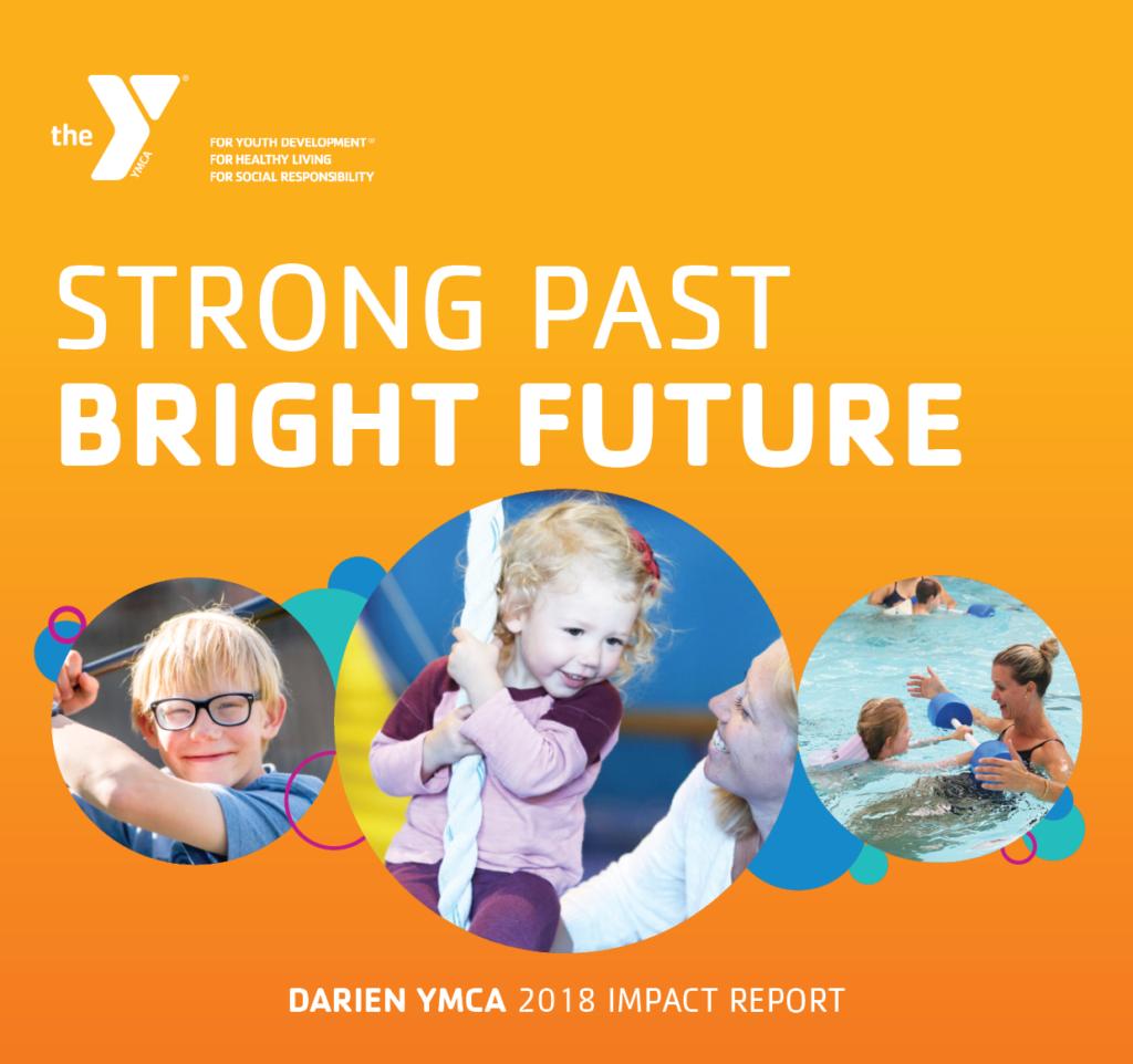 2018 Impact Report Cover Darien YMCA