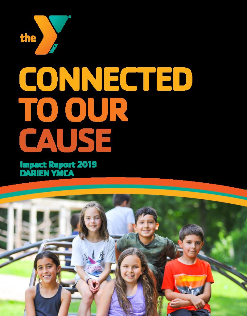 2019 Annual Report Cover Darien YMCA