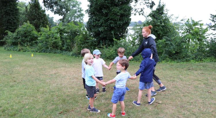 Kids at Darien YMCA Camp