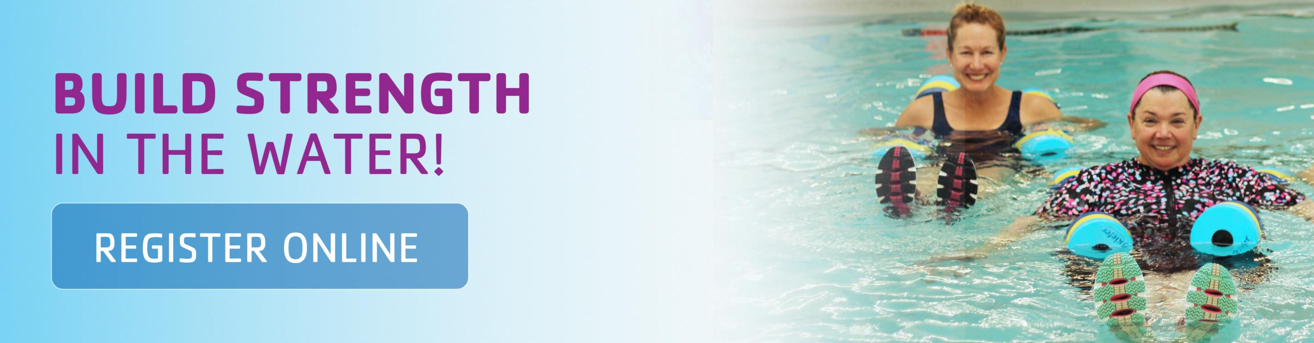 build strength in the water at Darien YMCA